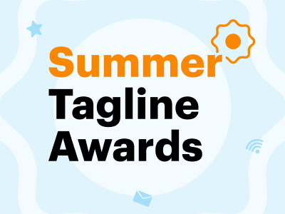 Взяли 5 наград на Summer Tagline Awards